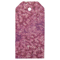Human liver cells with cancer wooden gift tags
