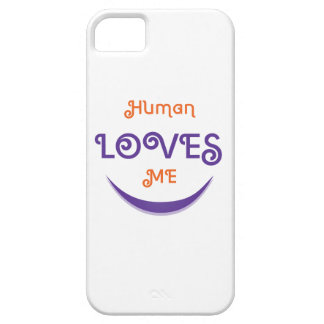 Human Loves me iPhone SE/5/5s Case