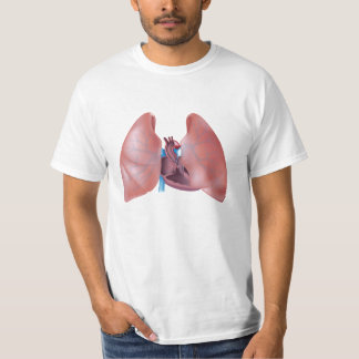 Human lungs and heart Shirt