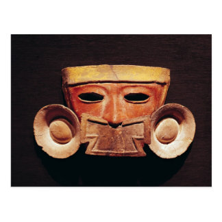 Human mask, from Teotihuacan Post Card