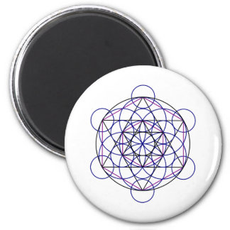 Human Merkaba Energy Field from our 7 Chakras 2 Inch Round Magnet