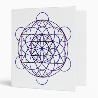 Human Merkaba Energy Field from our 7 Chakras 3 Ring Binder