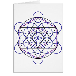 Human Merkaba Energy Field from our 7 Chakras Card