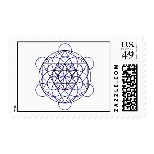 Human Merkaba Energy Field from our 7 Chakras Stamps