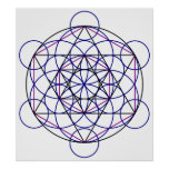 Human Merkaba Energy Field from our 7 Chakras Print