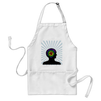 human mind adult apron