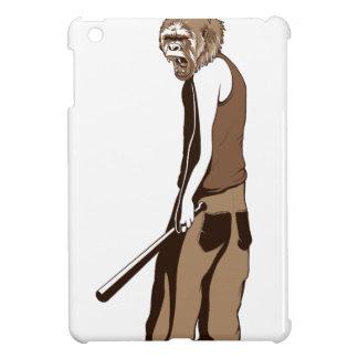 human monkey with stick iPad mini covers