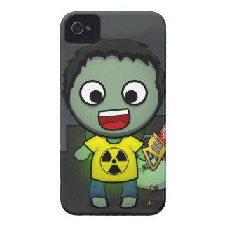 Human murderer zombie iPhone 4 Case-Mate case