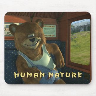 HUMAN NATURE BEAR MOUSEPAD
