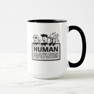 Human Nature Coffee Mug