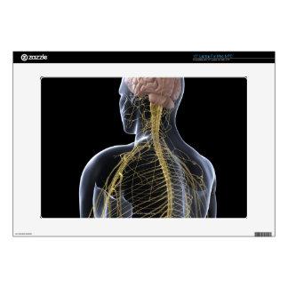 """Human Nervous System Skin For 15"""" Laptop"""