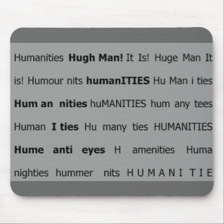 Human nits mouse pad