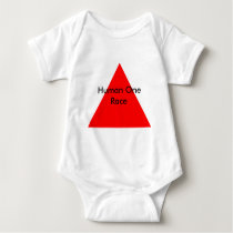 Human One Race The MUSEUM Zazzle Gifts Baby Bodysuit