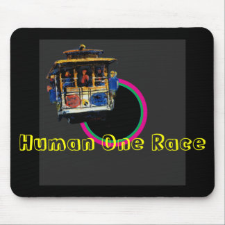 Human One Race The MUSEUM Zazzle Gifts Mouse Pad