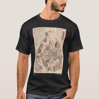 Human physiology as Kabuki T-Shirt
