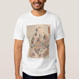 Human physiology as Kabuki T Shirts
