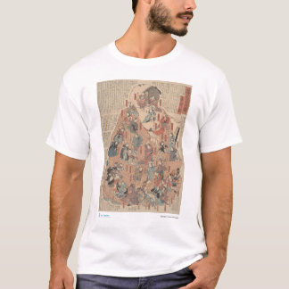 Human physiology, back view T-Shirt