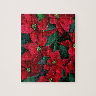 Human Poinsettia Collection Jigsaw Puzzle