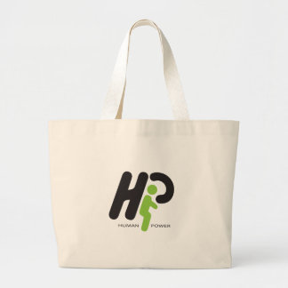 Human Power Canvas Bags
