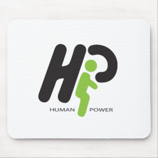 Human Power Mouse Pad