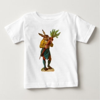 Human Rabbit With GIANT CARROT ! Baby T-Shirt