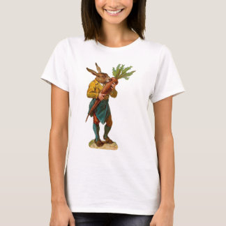 Human Rabbit With GIANT CARROT ! T-Shirt