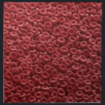 "HUMAN RED BLOOD CELLS NAPKIN<br><div class=""desc"">HUMAN RED BLOOD CELLS</div>"