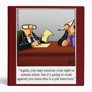 Human Resource Humor Work Binder