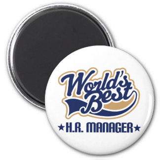 Human Resource Manager Gift 2 Inch Round Magnet