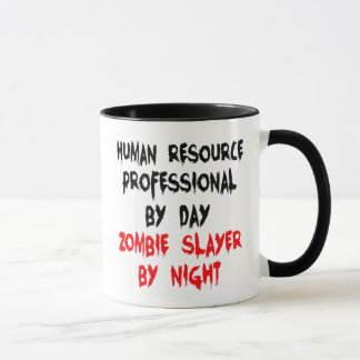 Human Resource Professional Zombie Slayer Mug
