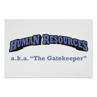 Human Resources - a.k.a. The Gatekeeper Poster