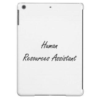 Human Resources Assistant Artistic Job Design iPad Air Cases