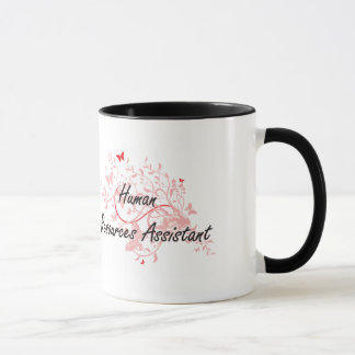 Human Resources Assistant Artistic Job Design with Mug