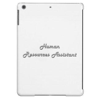 Human Resources Assistant Classic Job Design iPad Air Case