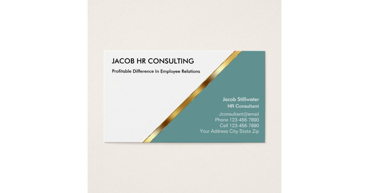 Human Resources Business Cards & Templates | Zazzle