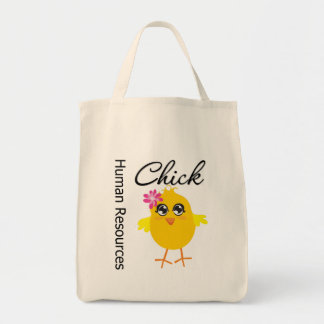Human Resources Chick Tote Bag