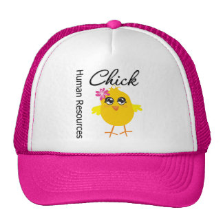 Human Resources Chick Trucker Hat