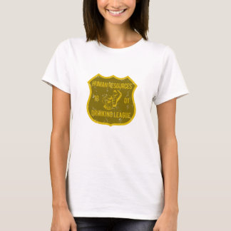 Human Resources Drinking League T-Shirt