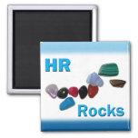 Human Resources HR Rocks Refrigerator Magnet