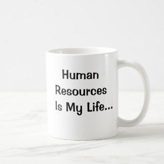 Human Resources Is My Life Classic White Coffee Mug