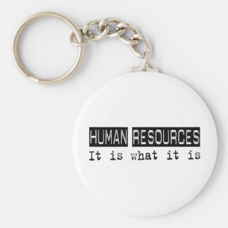 Human Resources It Is Key Chains