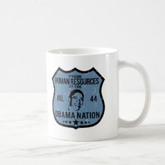Human Resources Obama Nation Coffee Mug