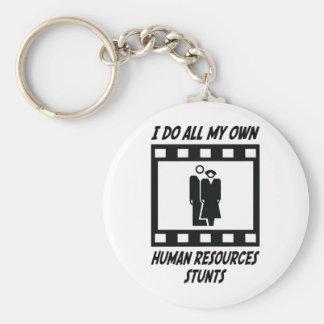 Human Resources Stunts Keychain