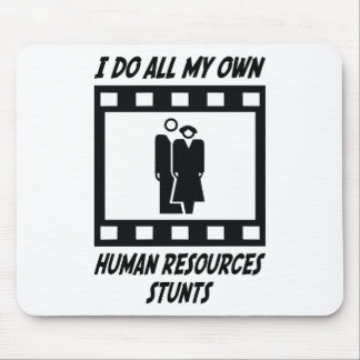 Human Resources Stunts Mouse Mat