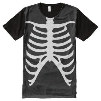 Human Rib Cage Halloween Costume All-Over Print Shirt