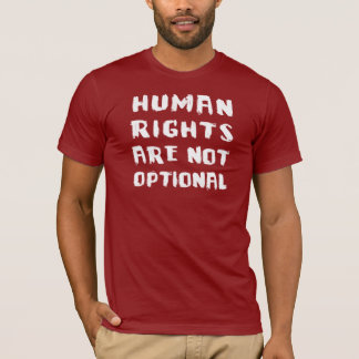 Human Rights Are Not Optional Basic AA T-Shirt