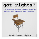 Human Rights Art Poster