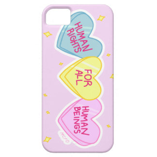 """""""Human Rights"""" phone case"""