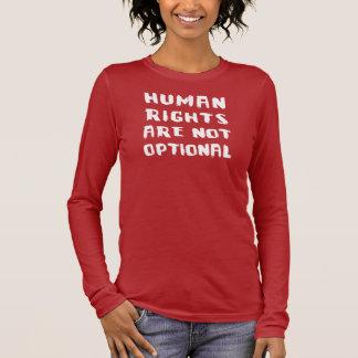 Human Rights Women's Hanes Nano Long Sleeve Long Sleeve T-Shirt