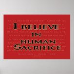 Human Sacrifice Posters